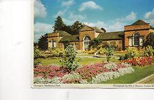 Postcard Derbyshire  Orangery Mareaton Park  unposted   Cedars W.I. Judges
