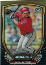 2015 Bowman Chrome Scouts Update #BSU-YT Yasmany Tomas Arizona Diamondbacks