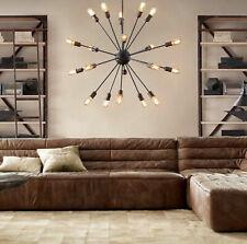 Vintage Industrial Sputnik Ceiling Light Loft Satellite Iron Art chandelier