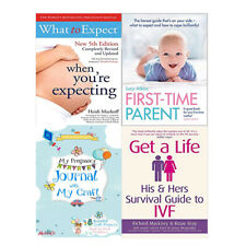 Pregnancy Journal,What to Expect,First-Time Parent,4 Books Collection Set New