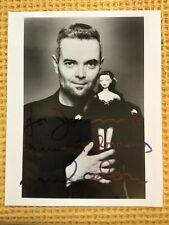 More details for hand signed mel odom photograph gene marshall doll designer and artist