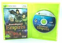 Dynasty Warriors 6 Empires Microsoft Xbox 360 Complete CIB Canadian Seller Games