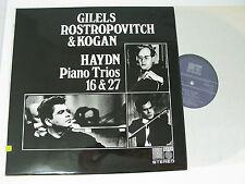 Saga 5311-HAYDN Piano Trios 16/27 - Gilels, Rostropovitch & Kogan