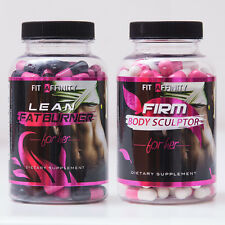 FIT AFFINITY: Lean & Sculpted Bundle - Fat Burner for Women • 90 Capsules each