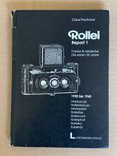 Rollei Report 1, Hardback Book, German Language, published 1993