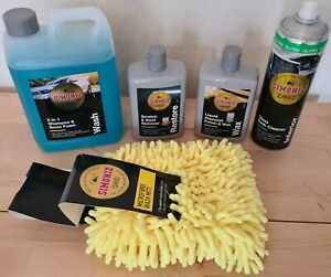 Car Care Kit Shampoo snow foam liquid diamond polish swirl remover Mitt dash