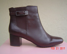 NEW BANDOLINO BROWN LEATHER  BOOTS SIZE 7.5 M  $109