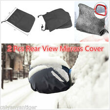 Universal Car Side Mirror Snow Covers Snow, Ice & Frost Water Protector Cover