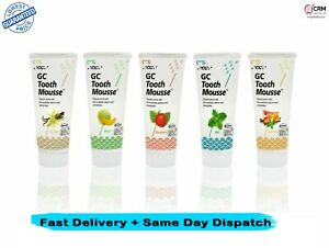 GC Tooth Mousse 40g -Topical Tooth Cream with different flavours FREE POSTAGE