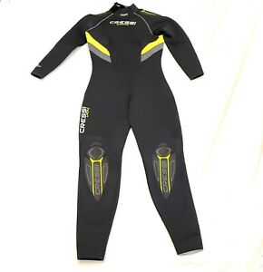 NWT, Cressi Castoro Diving Wet Suit 5mm Women's Size XL:5 Black
