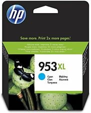 Hp F6u16ae - 953xl Cyan Ink Cartridge High Yield
