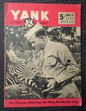 1944 March 10 YANK Army Weekly Magazine G/VG 3.0 Zebras WW 2 II
