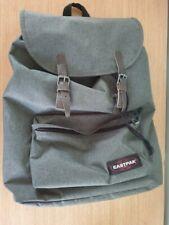 Eastpak London Opgrade Backpack Dark Green / Brown Straps