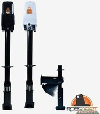 Atwood Power Tongue Jack 3000 lb RV Camper White with Robofoot 81068