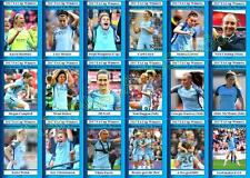 Manchester City femme 2017 femme FA Cup Winners Football Trading Cards