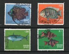 Sri Lanka  (1972)  - Scott # 473 - 476,   Used