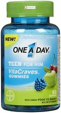 One A Day VitaCraves Teen for Him Gummy, 60 ct gummies