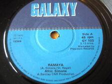 """AFRIC SIMONE - RAMAYA  7"""" VINYL"""