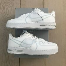 Nike Air Force 1 React White Weiß Pure Platinum (CT1020-101) New & In-Hand !