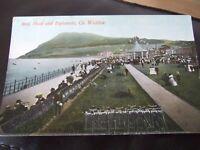 Bray Head & Esplanade,& Bike Rack,  Co. Wicklow. Signal Series Postcard # 71634