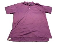 Peter Millar Polo Shirt Purple Size XL Golf Casual