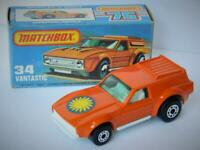MATCHBOX LESNEY SUPERFAST SUNBURST SUN LABEL VANTASTIC 34 VNM IN VNM K BOX 1978