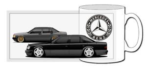 mercedes mug, 190e, cosworth evo, benz, classic car, 220e, s500, s600, dtm