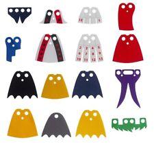 LEGO® Accessories: 14 Superheroes Cape Lot - Ivy, Joker, Harley, Batman, Thor +