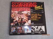 Scorpions-Live 12 inch vinyl Maxi single