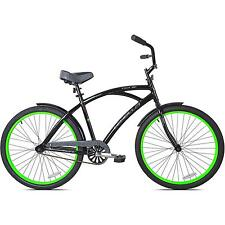 "KENT CRUISER BIKE 26"" MEN'S ALUMINUM FRAME BLACK CITY BEACH COMFORT BICYCLE NEW"