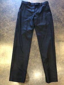 Stella McCartney Black Wool Cropped 38 XS