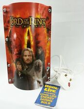 """Rare The Lord of the Rings """"The Two Towers"""" Kool Lite Table Lamp"""