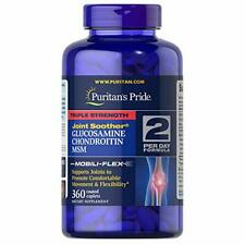 Puritans Pride Triple Strength Glucosamine, Chondroitin and Msm Joint, 360 Count