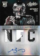 "2013 Absolute #226 Matt Barkley ""NFC"" Triple Prime Patch Autograph RC #31/49"