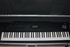 Korg X2 76 Key Electronic Keyboard Synthesizer Piano Organo Hard Case w/ Wheels