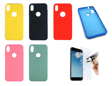 "Funda Carcasa Rigida Silicona Ultra Suave Para IPhone XS MAX (4G) 6.5"""