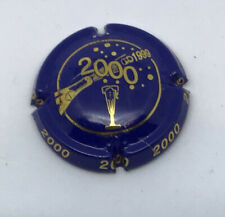CAPSULE DE CHAMPAGNE - AN 2000 - N° 622 - BLEU ET OR