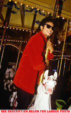 MICHAEL JACKSON RIDING NEVERLAND HORSE 1xRARE PHOTO