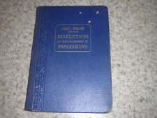 1933.manuel bénédictions Saint sacrement et processions / Besnier.motet