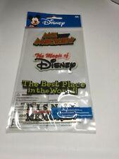 EK SUCCESS dimensional Scrapbook stickers DISNEY MICKEY MOUSE 4 pc set NEW