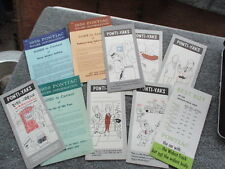 1959 pontiac car of the year pamphlets sales tips literature man cave museum