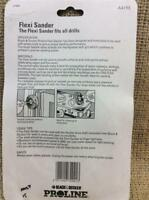 CLEARANCE LOT NA28 2 HEADS 1 SHAFT BLACK & DECKER PROLINE FLEXI SANDER FOR DRILL