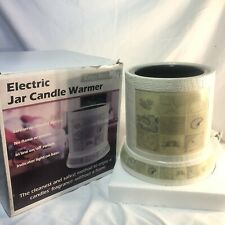 Crazy Mountain Large Jar Electric Candle Warmer Gifts From The Sea Seashells Nib