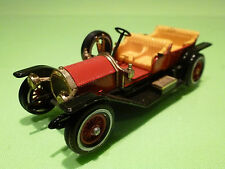 MATCHBOX LESNEY Y-9 SIMPLEX 1912 - RARE SELTEN - VERY GOOD