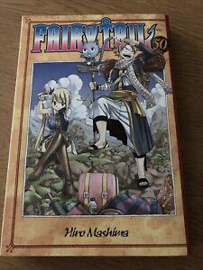 Fairy Tail Manga Volume 50 KC Comics Paperback