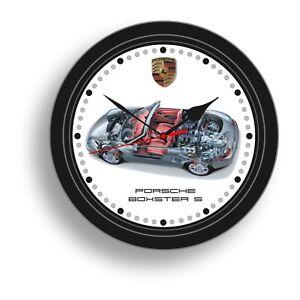 """Porsche 8"""" Wall Clocks"""