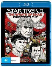 The Star Trek 2 - Wrath Of Khan (Blu-ray, 2016) New & Sealed Directors Cut