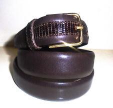 Cintura donna Vera Lucertola alta qualità marrone | SOTTOCOSTO |