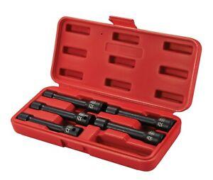 """Special Head Bolt Sockets, automotive tools, socket set, 4"""" long, Sunex Tools"""