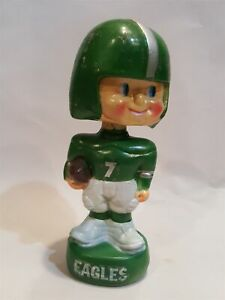 1970's vintage BOBBLE HEAD nfl Philadelphia Eagles football apsco #1 team